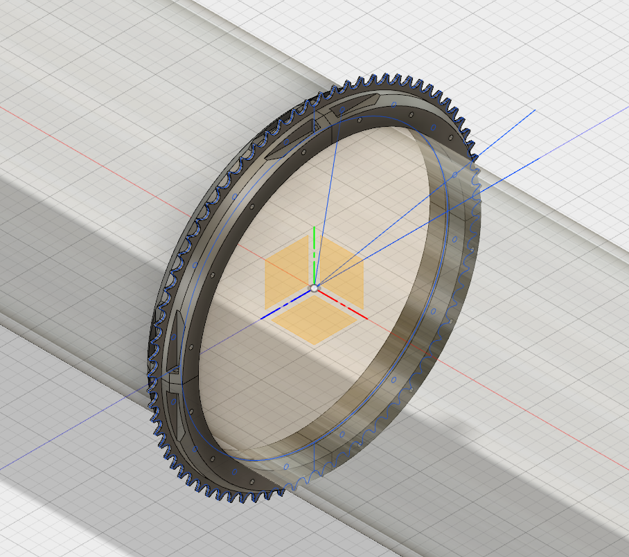 sprocket mount
